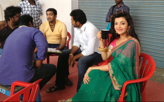 Photo-Story--Kajal-caught-sipping-on-sets-134